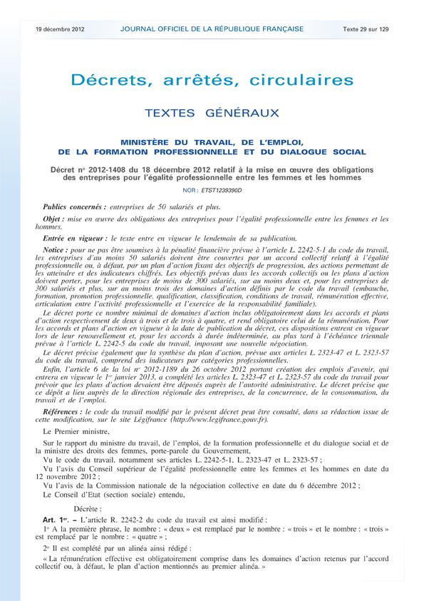 Journal officiel de la République française - N° 295 du 19 d