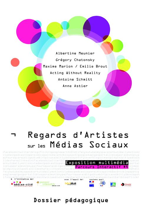 MEDIAUX SOCIAUX ET ART DOSSIER PEDAGOGIQUE MARS 2011-1