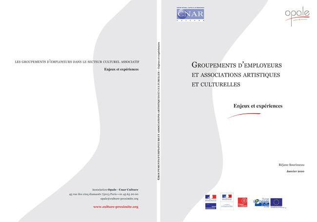 groupement d'employeurs et associations artostiques