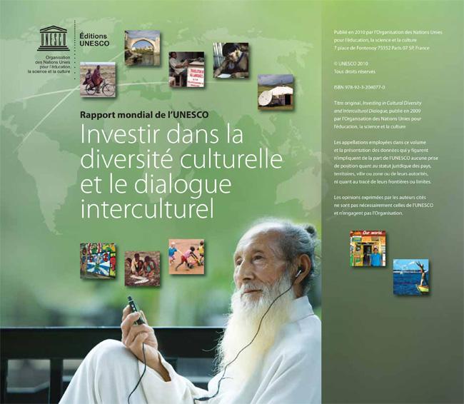 Investir dans la diversité culturelle et le dialogue interculturelle