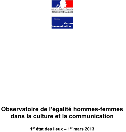 Observatoire de l'égalité hommes-femmes